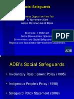 ADB General - 3 Social Safeguards - Biswanath Debnath