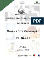 Manual Promoção Saúde Esteticista 2º