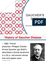 Gaucher's Disease