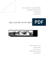 Building Site Report to Print PDF