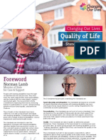 Quality of Life Standards and Toolkit