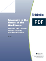 Accuracy in the Hands of the Workforce_Portable GPS Devices Prove Central to Accurate Solutions
