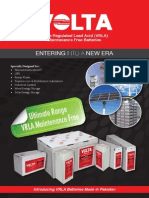 VRLA Batteries Brochure-VOLTA