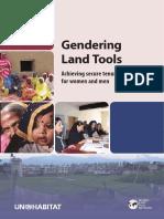 Gendering Land Tools