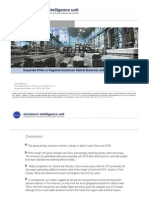 4 Expected Shifts in Regional Aluminum Market Balances and the Premium Outlook Jorge Vázquez Harbor Intelligence