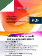 AUDITING 1 BAB 1 Permintaan akan Jasa Audit dan jasa Assurance lainnya