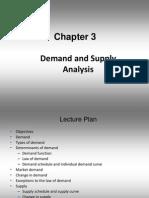 3 Demand and Supply Analysis