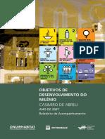 Objetivos de Desenvolvimento Do Milênio - Casimiro de Abreu Ano de 2007