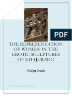 The Representation of Women in the Erotic Sculptures of Khajuraho