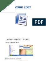 Word 2007, Guion Actividades