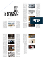 Doreen Mende Displaycing Practices From Space to Spatiality in Exhibiting (2014)