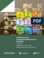 Objetivos de Desenvolvimento Do Milênio - Niterói Linha-base 2000/2006