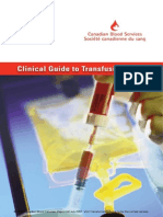 Clinical Guide to Blood Transfusion