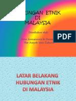 Hubungan Etnik Di Malaysia Group 1