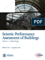Seismic Performance Assessment of Buildings FEMA 2012