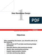 CH1 Data Warehouse Design