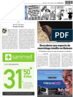 Páginas de Ultima Hora Mallorca 10-10-2007