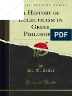 A History of Eclecticism in Greek Philosophy 1000117418