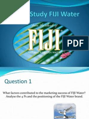 fiji water mission statement