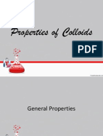 Properties of Colloids