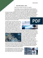 Short Film Analysis - Sight