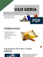 PIO Motivasi Kerja (YBF;Cimut)