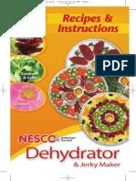 NESCO Dehydrator Manual