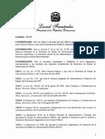 Decreto 528-09 reglamento orgánico funcional del Ministerio de Administración Pública