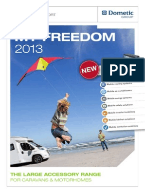 Southdowns 2013 Dometic My Freedom Brochure   Refrigerator