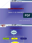 SESION 11-El Concreto