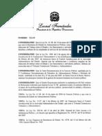 Decreto 523-09 reglamento de relaciones laborales en la administración pública