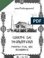 Constantin Porfirogenetul - Carte de învățătură pentru fiul său Roman