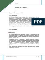 Funciones de La Direccion de Prisma Sac