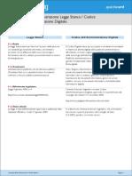 Accessibile Quickcard Comparazione Legge Codice
