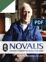 Novalis Publishing Fall 2014 Book Catalogue