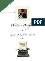 Writer's Portfolio Gunter Swoboda