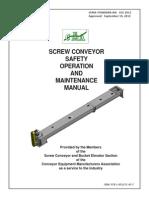 Screw Conveyor Safety