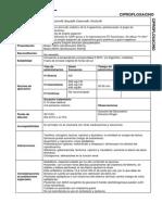 Parenteral Ciprofloxacino