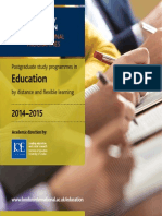 Institute of Education Prospectus