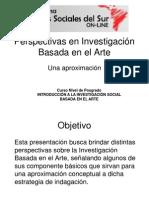 UNIDAD II B- Perspectivas en Investigación Basada en El Arte