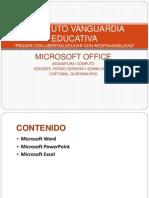 Microsoft Office Edwin Canto y Pedro Cervera