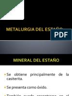 Metalurgia Del Estaño