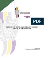 Manual de Organización Ddu