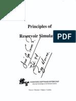 Principles of Reservoir Simulation