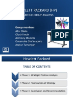 Student Presentation HP