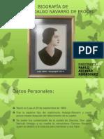 Biografía Matilde Hidalgo-por Pablo Alcivar