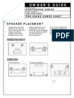 N38 Speaker Manual