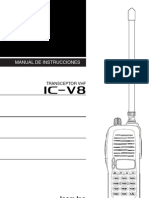 Manual Icom IC v8 Esp