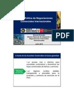 Politica Peruana Negociaciones Internacionales