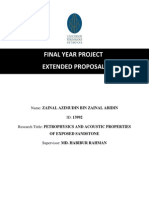 Extended Proposal